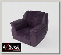 Кресло Дакота (Велюр Cortex Plum (AT)/Экокожа Marvel Plum (AT))
