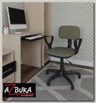 """Кресло """"Арчи"""" (Ткань светло-коричневая/Пластик ) А-Л2"""